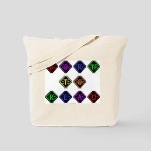 Born to Read Diamonds Tote Bag