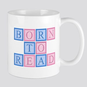 Born to Read Blocks Mug