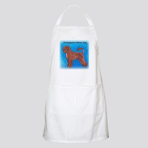 Brown Portuguese Water Dog BBQ Apron