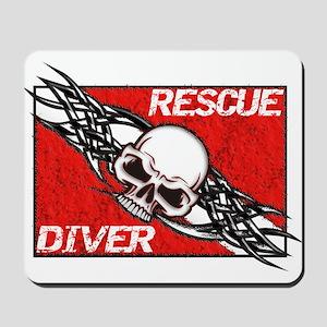 Rescue Diver Mousepad