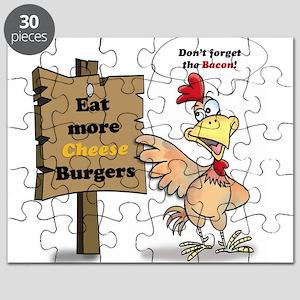 Eat More Burgers Puzzle