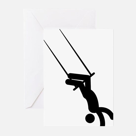 Trapeze-AAA1 Greeting Cards