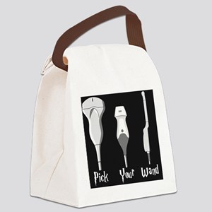 Pick Your Wand Design #2 Canvas Lunch Bag