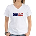Infidel Women's V-Neck T-Shirt