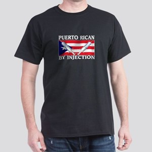 Puerto Rican By Injection Dark T-Shirt