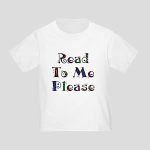 Read to Me Fun Toddler T-Shirt