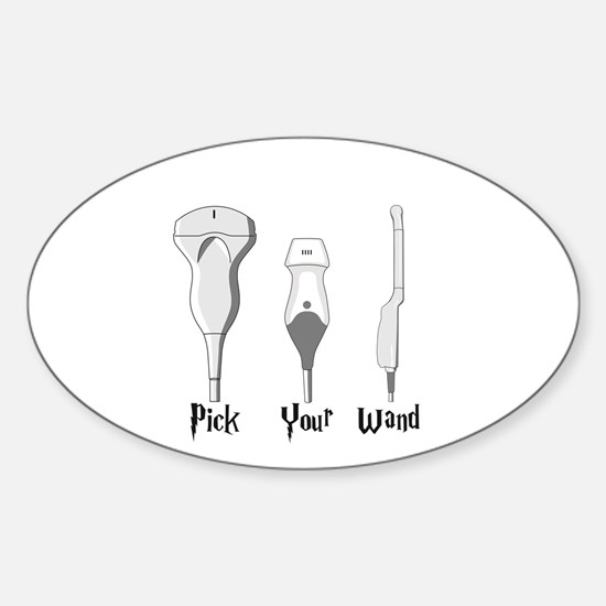 Pick Your Wand Design #2 (Light Background Decal