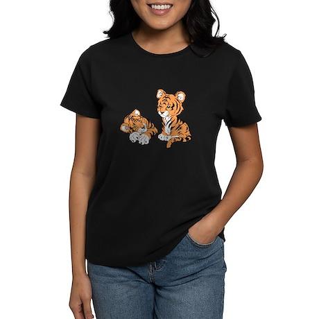 Tiger Cubs Women's Dark T-Shirt