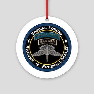SF Ranger HALO Ornament (Round)