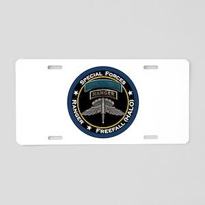 SF Ranger HALO Aluminum License Plate