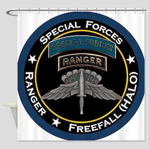 SF Ranger HALO Shower Curtain