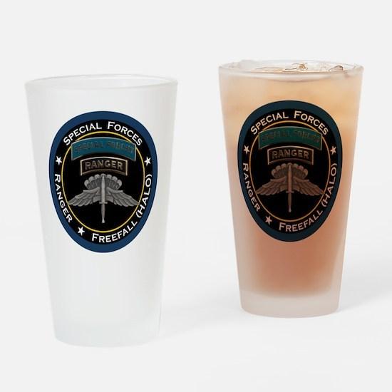 SF Ranger HALO Drinking Glass