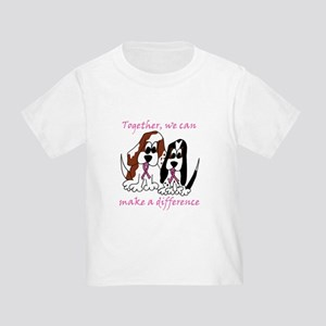 The Basset Boys Wear Pink Toddler T-Shirt
