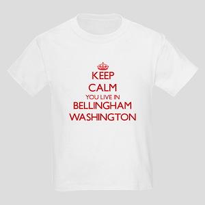 Keep calm you live in Bellingham Washingto T-Shirt