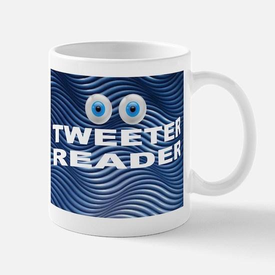 TWEETER READER Mugs
