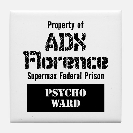 ADX Florence Tile Coaster