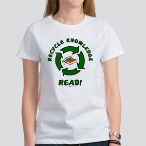 Recycle Knowledge Women's T-Shirt