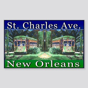 St. Charles Ave Line Sticker