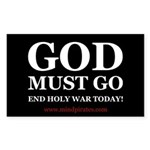 END HOLY WAR Sticker