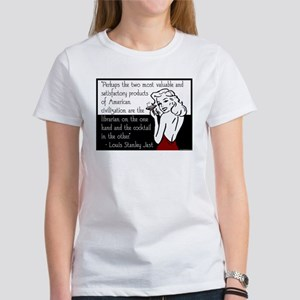 Librarians & Cocktails Women's T-Shirt