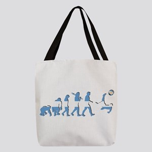Argentinia Soccer Evolution Polyester Tote Bag