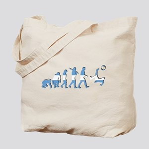Argentinia Soccer Evolution Tote Bag