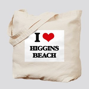 I Love Higgins Beach Tote Bag