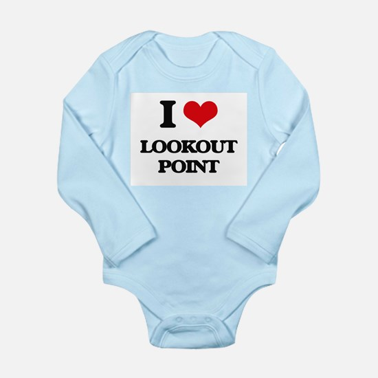 I Love Lookout Point Body Suit