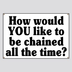 Would YOU like to be chained? - Banner