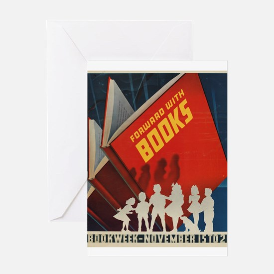 1942 Children's Book Week Greeting Cards (10 P