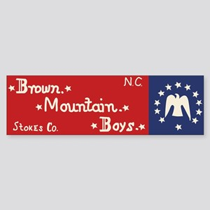 Brown Mountain Boys Bumper Sticker