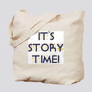 Story Time-Night Sky Tote Bag