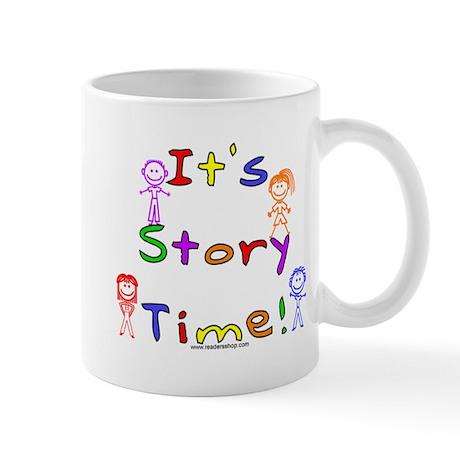Story Time w Stick Kids Mug