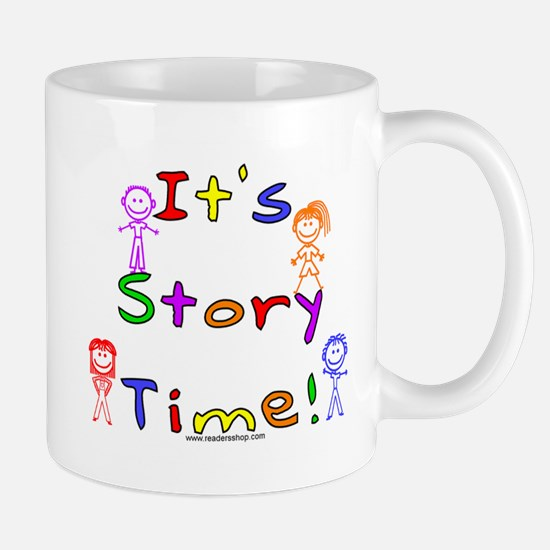 Story Time w Stick Kids Mug