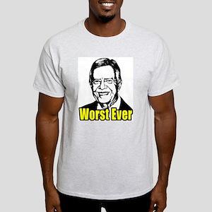 Carter - Worst Ever Light T-Shirt
