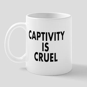 Captivity is cruel - Mug