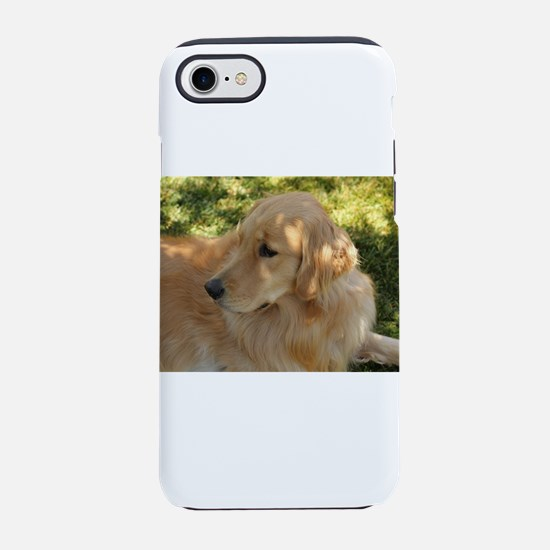 Nala the golden retriever in g iPhone 7 Tough Case