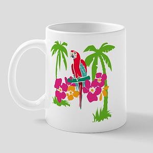 Resden Pretty Parrot Mug