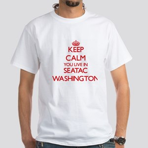 Keep calm you live in Seatac Washington T-Shirt
