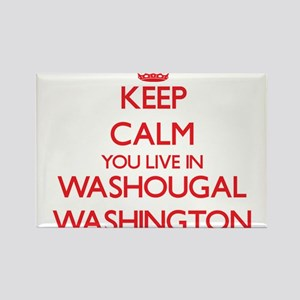 Keep calm you live in Washougal Washington Magnets