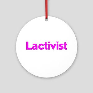 Lactivist Ornament (Round)