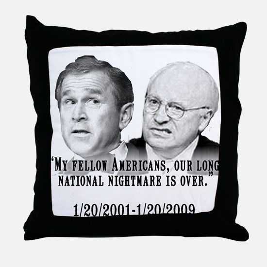 Our National Nightmare is Ove Throw Pillow