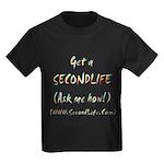 Get a SecondLife Kids Dark T-Shirt
