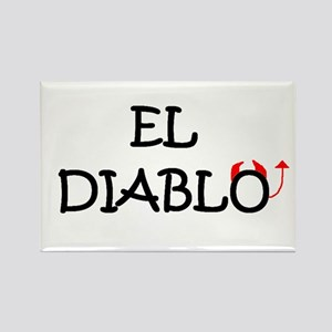 EL DIABLO Rectangle Magnet