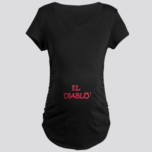 EL DIABLO Maternity Dark T-Shirt