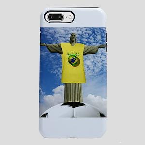 Brazilian Football iPhone 7 Plus Tough Case