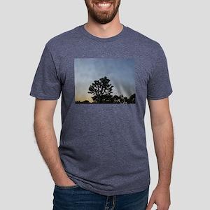 Joshua Tree at Sunset Mens Tri-blend T-Shirt