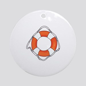 LIFE PRESERVER Ornament (Round)