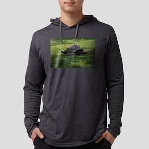 tortoise Mens Hooded Shirt