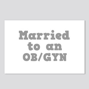 Married to an OB/GYN Postcards (Package of 8)